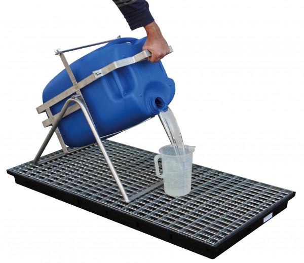 Cemo Kanister-Abfüllbock bis 60 Liter Kanister