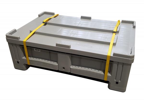Kunststoffsammelbehälter S – UN-zugelassenes Transport- und Lagersystem