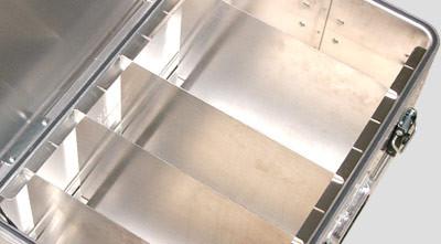 Beispiel Trennwand-Set für Aluminiumboxen