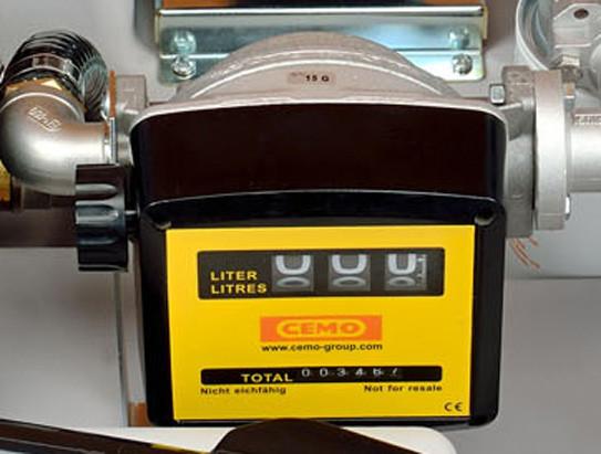 Abb. ähnlich: manueller Zähler K 33 für mobile Dieseltankanlagen