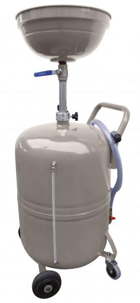 Altölsammler fahrbar mit 80 Liter Volumen und Einfülltrichter