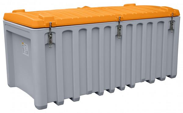 Leuchtstoffröhren-Sammelbox 750 Liter geschlossen – mit 3 Exzenterverschlüssen