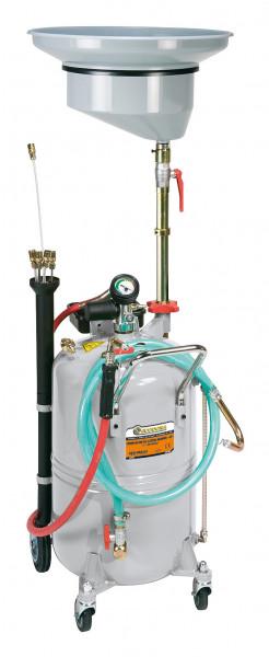 Ölabsauggerät mobil mit 90 Liter Inhalt und Trichter