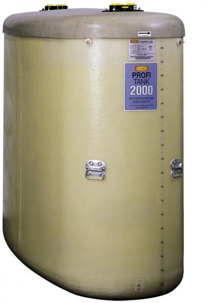 Beispiel PROFI-Tank ohne Zubehör 2000 Liter