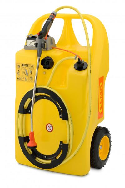 Aqua Caddy 60 Liter mit Akkubetrieb und Gardena-Bewässerungssystem