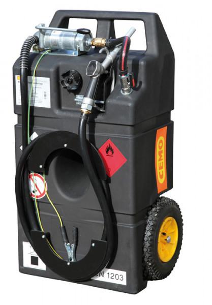 CEMO Kraftstoff-Trolley 95 Liter