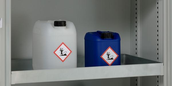 Beispiel Wannenboden 20 Liter für Umweltschrank 10-10 und 10-20 – Lieferung ohne Kanister