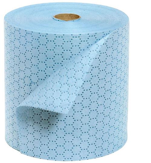 Cemsorb-Tuchrolle für »Öl« blau